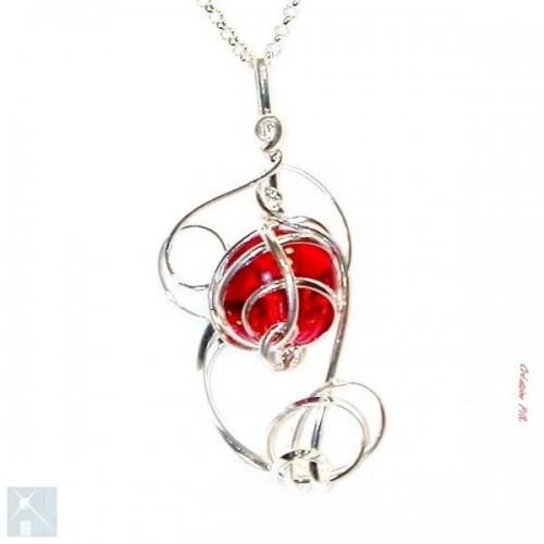 Pendentif artisanal, création de bijoux made in France