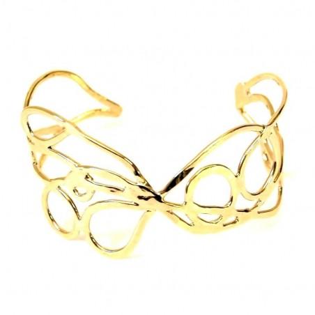 Bracelet doré création unique.