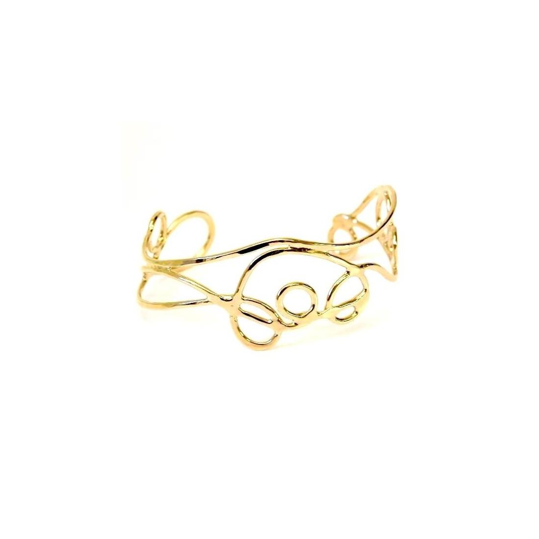 Bracelet doré, création unique.