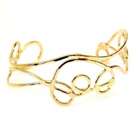 Bracelet de créateur, bijou unique fabriqué en France.