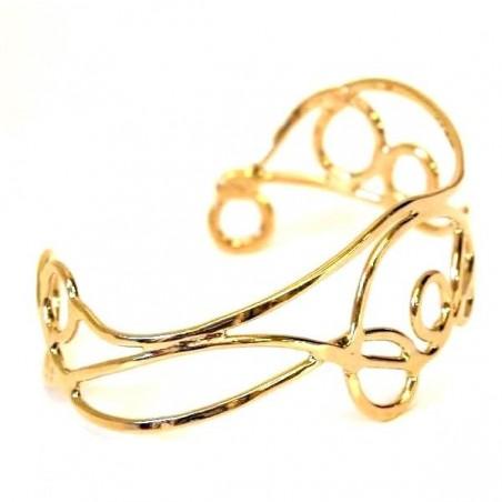 Bracelet doré, bijou unique.