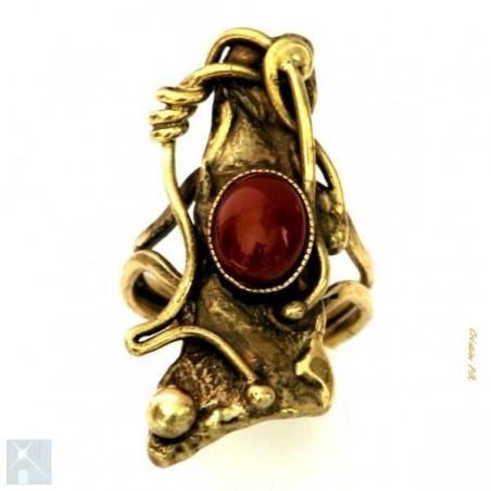 Bague bronze, faite à la main, collection baroque