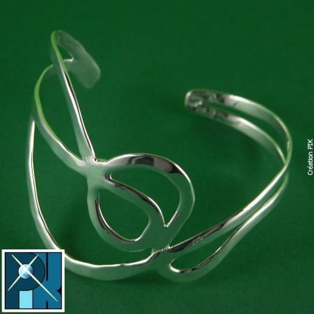 Bracelet rigide, pièce unique, fait main.