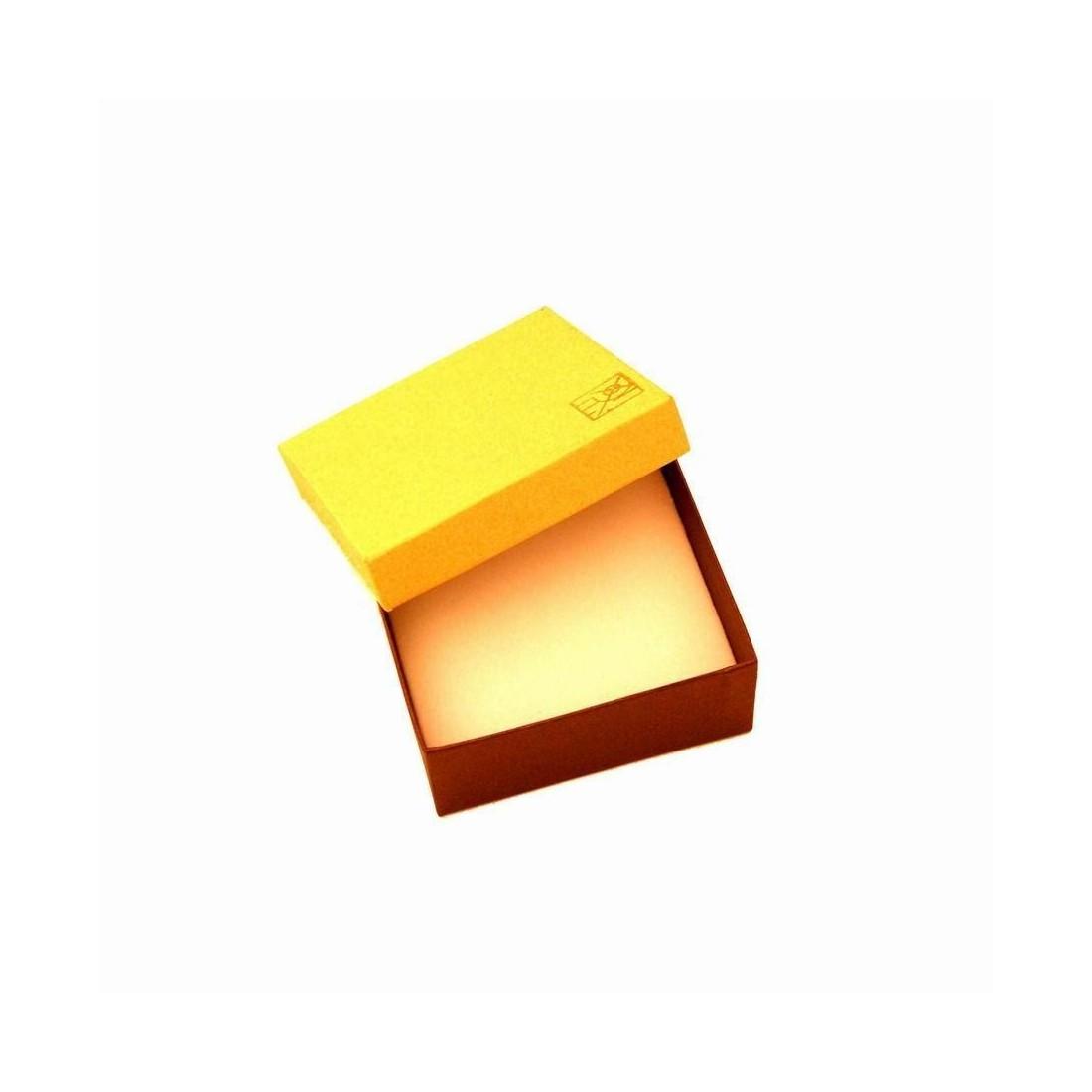 Boite doré nacré pour petit pendentif