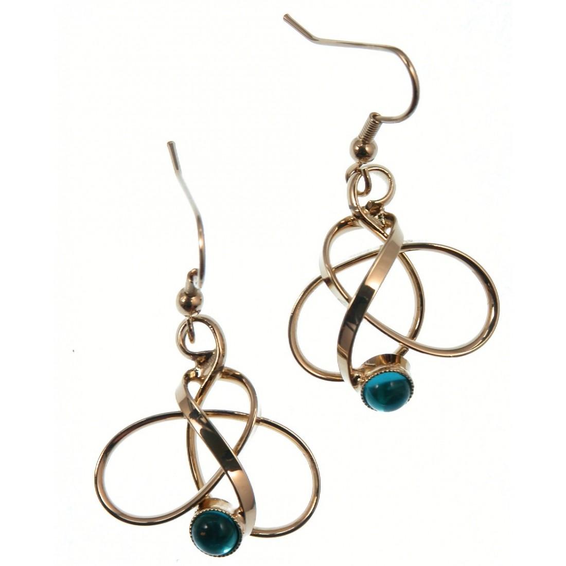 Boucles d'oreilles-bijoux artisanaux de qualité