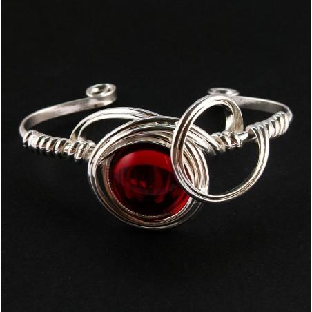 Bracelet fantaisie rigide et réglable