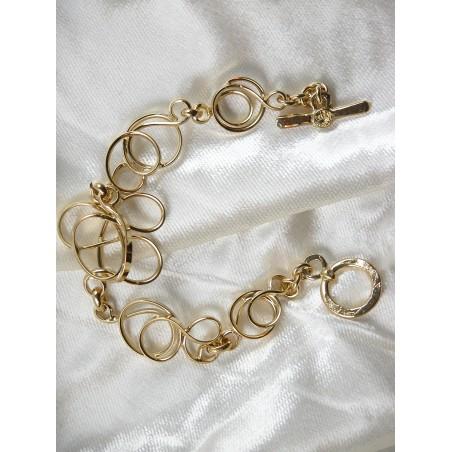 Pièce unique. Bracelet de créateur fabriqué par Atelier PIK