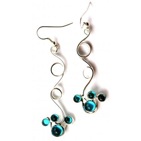 Atelier PIK -création de bijoux made in France-boucles d'oreilles argent