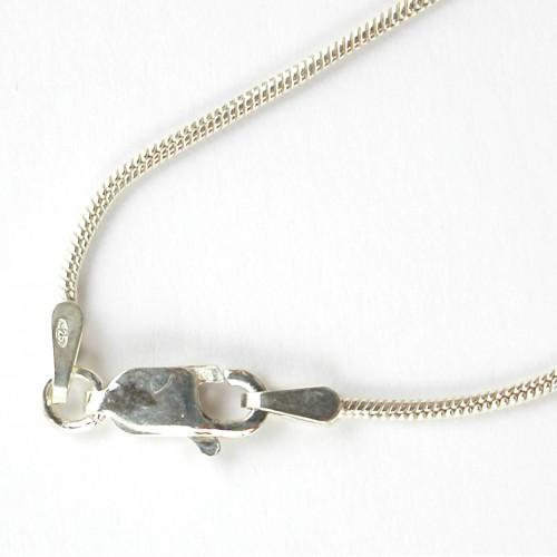 Chaîne fine et robuste en argent massif-accessoire bijoux