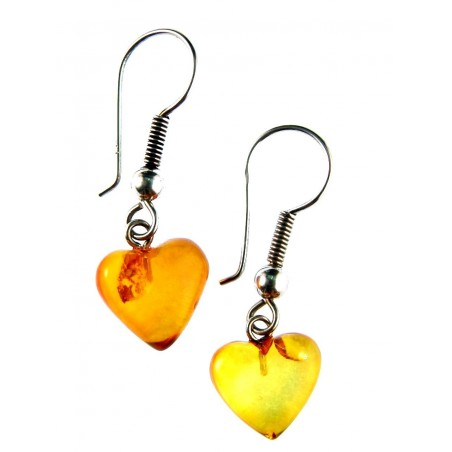 Coeurs en ambre