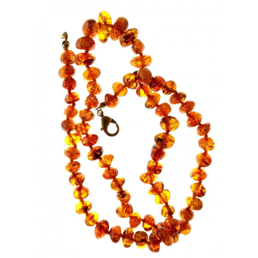 moitié prix divers styles design de qualité Ambre-collier d'ambre véritable