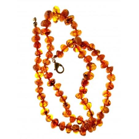 Ambre-collier d'ambre véritable