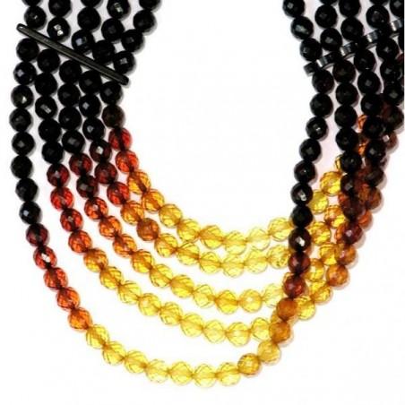 Style magnifique grandes variétés tout neuf Collier en ambre véritable de la mer baltique, fait main