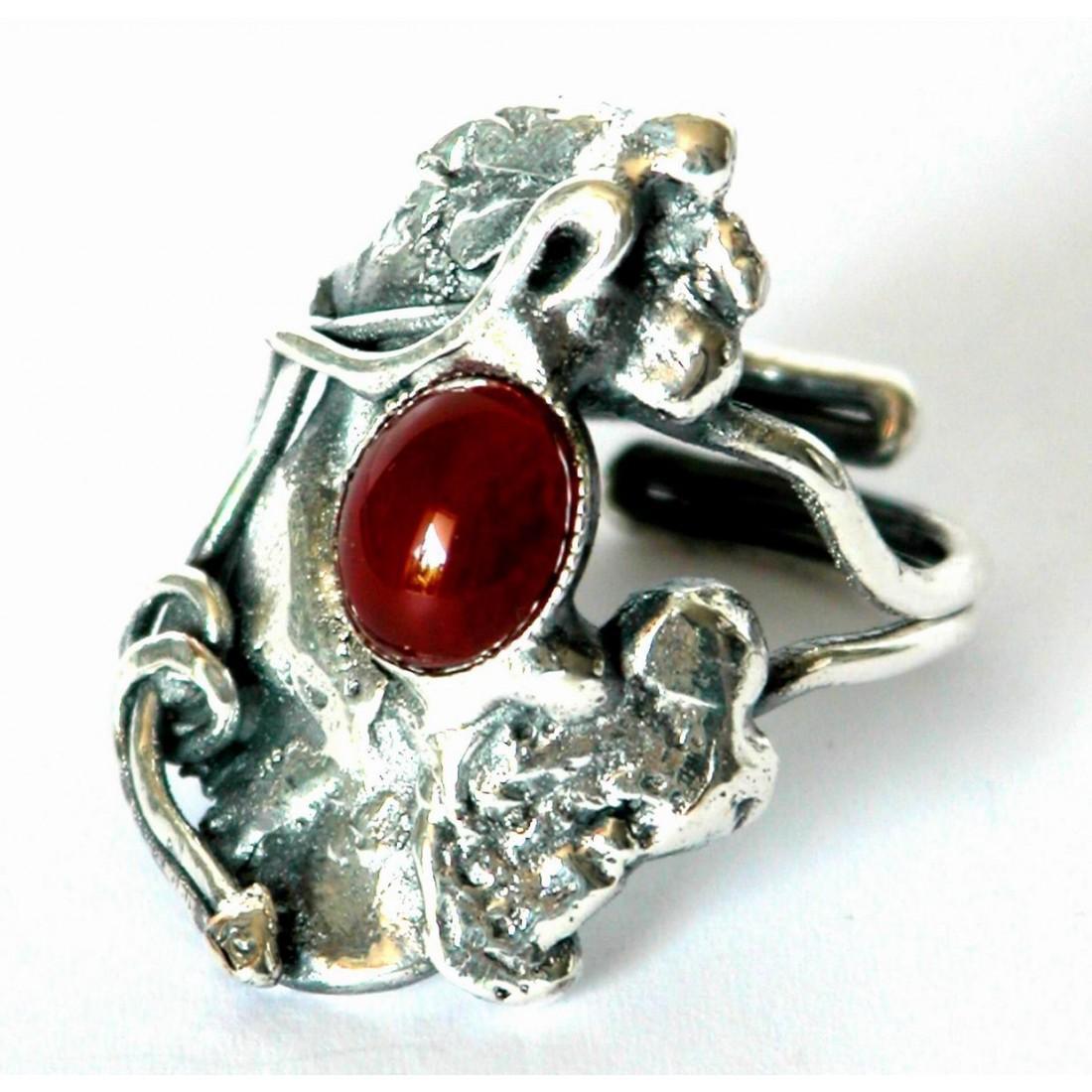 Bague de créateur-bijoux artisanaux made in France