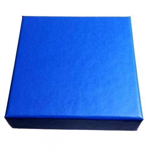 Boite bleue pour collier