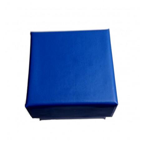 Écrin bleu pour bague