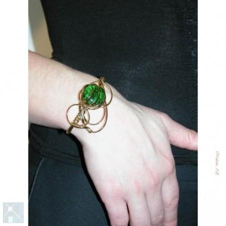Bracelet doré fait main
