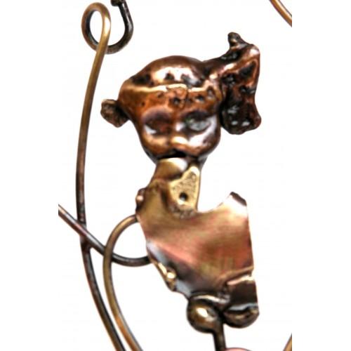 Présentoir à bijoux-porte bagues et boucles d'oreilles