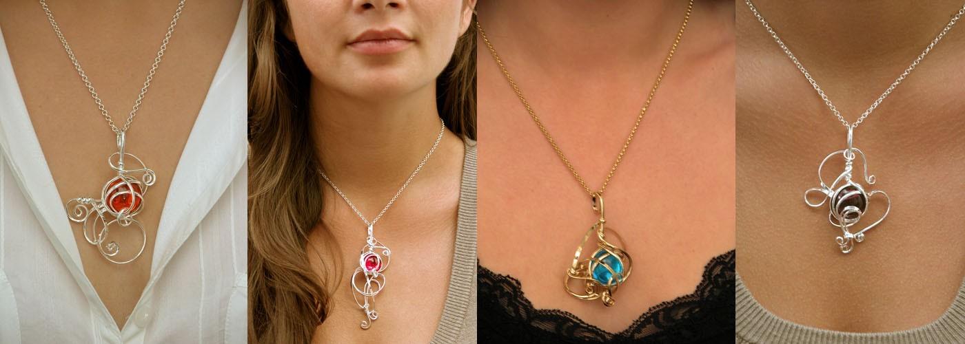 Pendentifs-bijoux de créateur français