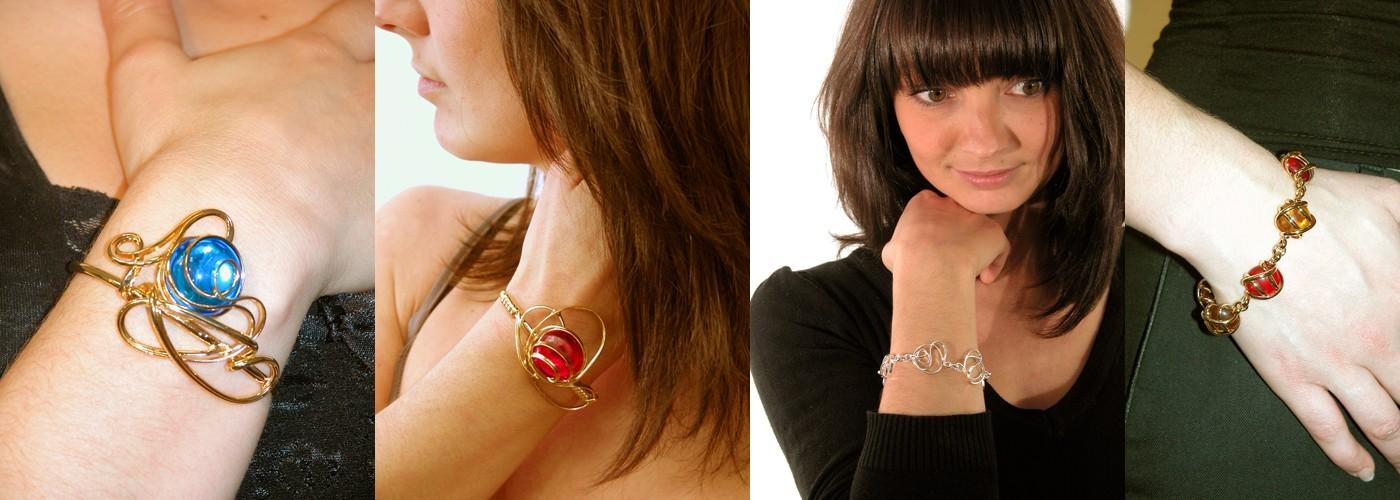 Bracelets fantaisie, bijoux artisanaux de qualité